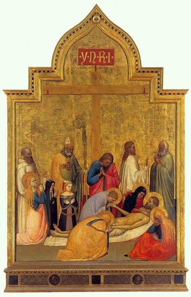Pietà di San Remigio - Giottino